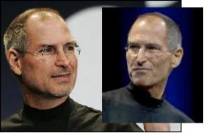 Steve Jobs - vorher/nachher