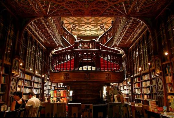 Der schönste Buchladen der Welt: Lello & Irmao in Porto (Foto: delviking Flickr.com)