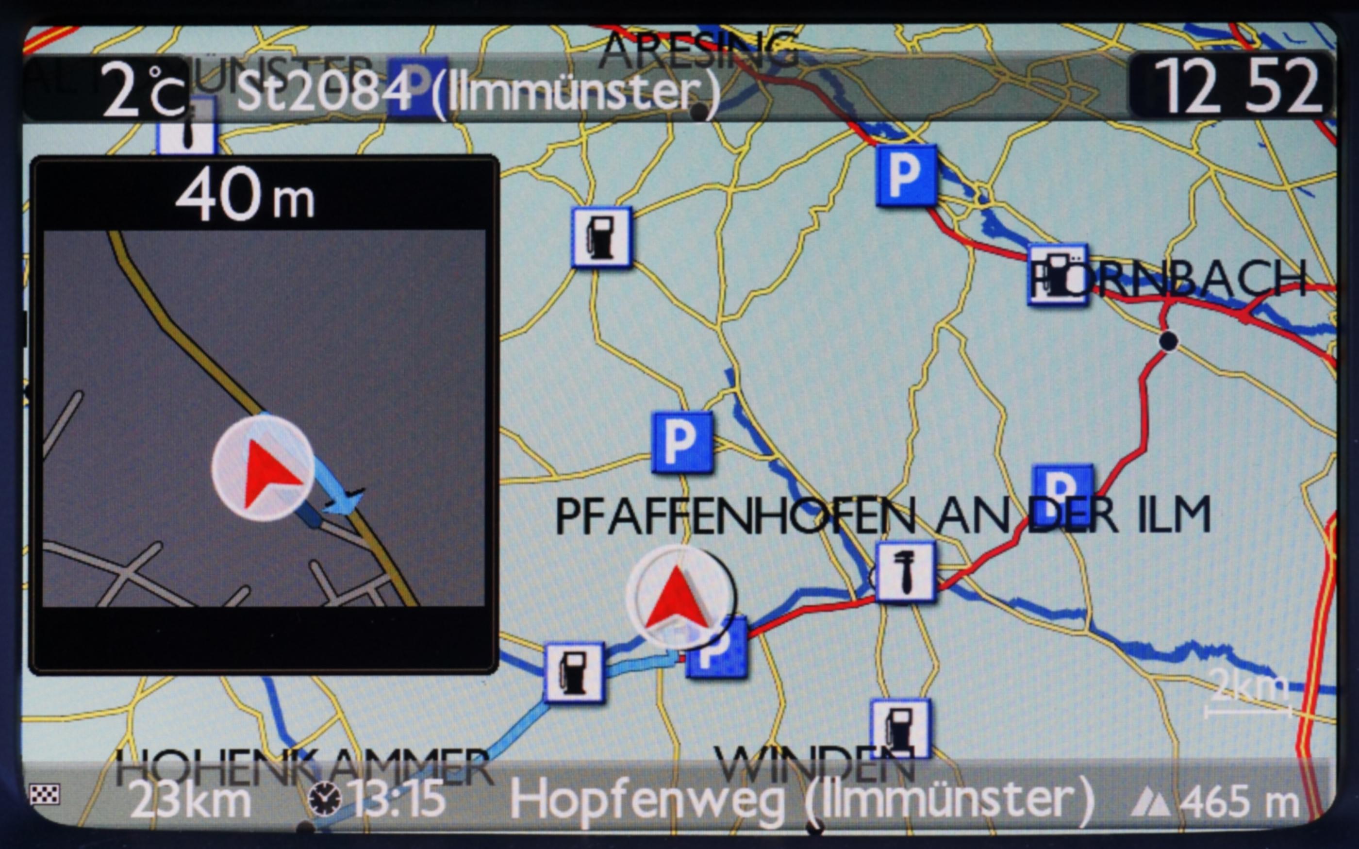 Citroen DS 5 Navigation