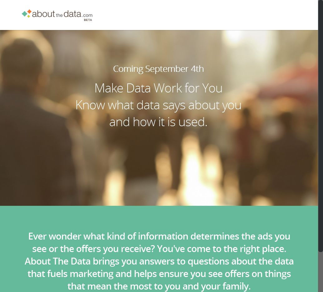 Ist das dr Anfang oder das Ende von Big Data?