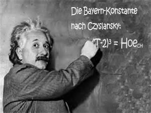 Czyslansky Bayern Konstante