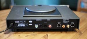 RESREK EPOS CD-Player von hinten