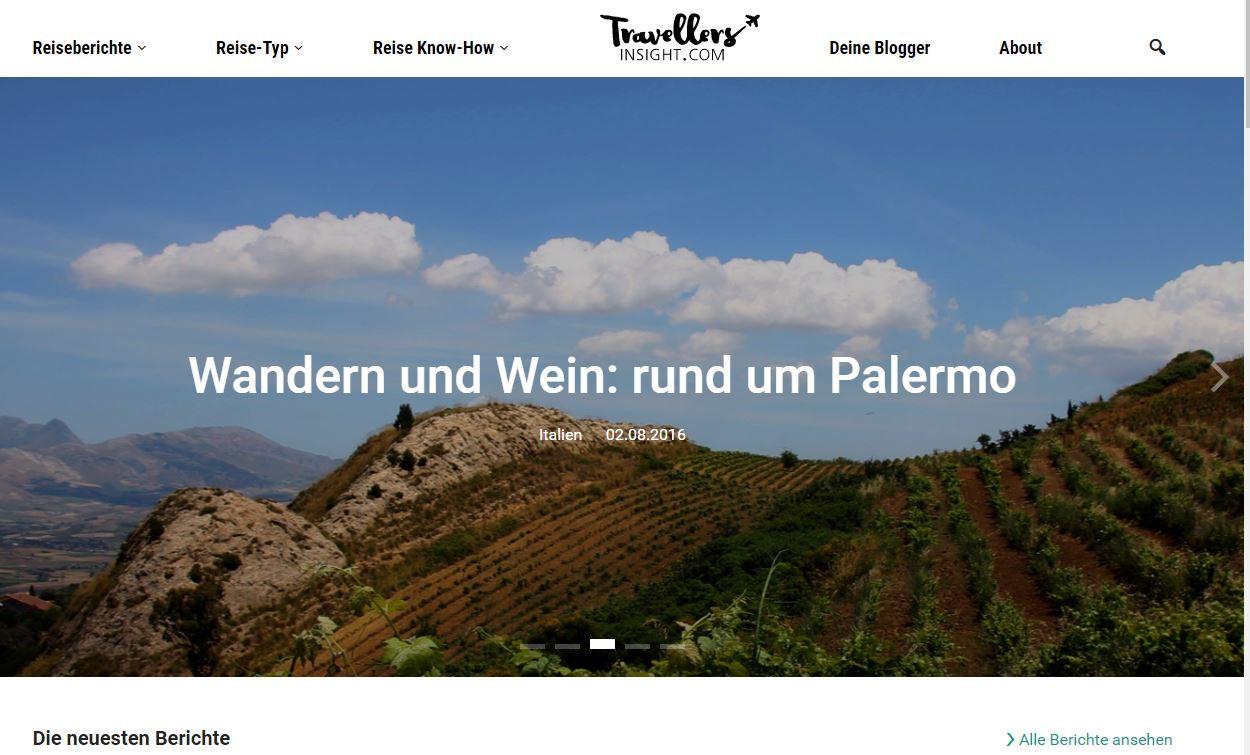 Ein neuer Reiseblog