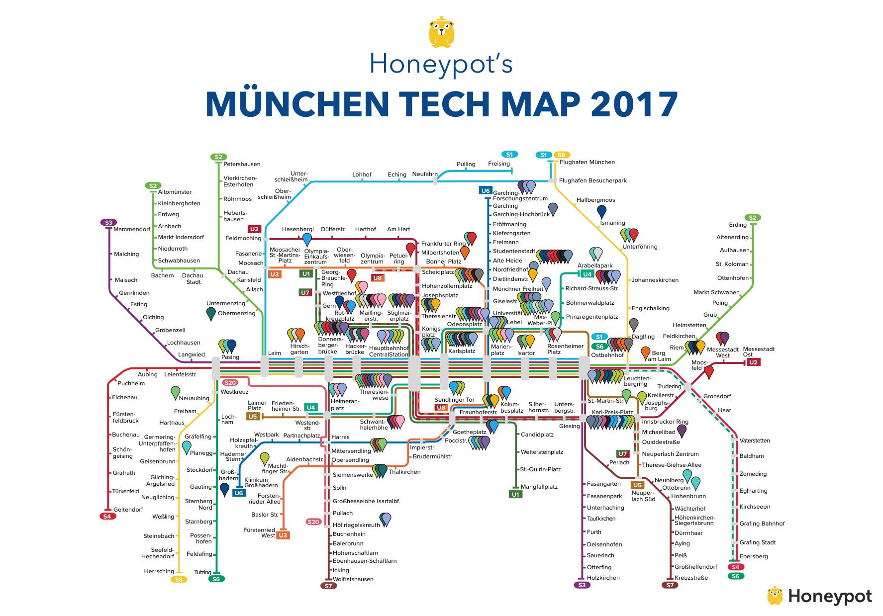 München Tech Map 2017