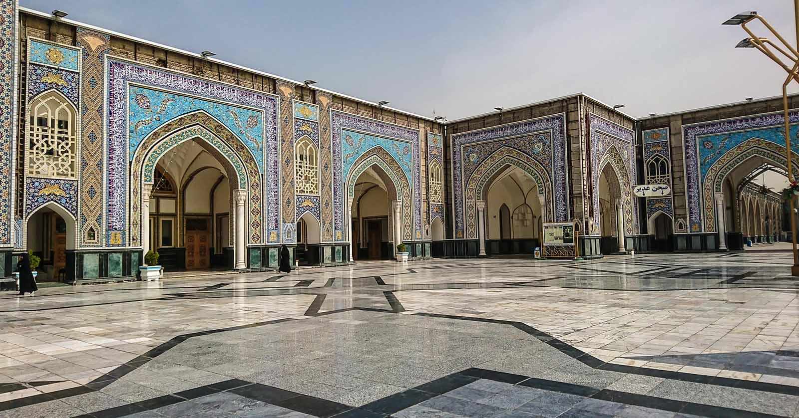 Alui ibn Musa ar Reza Heiligtum