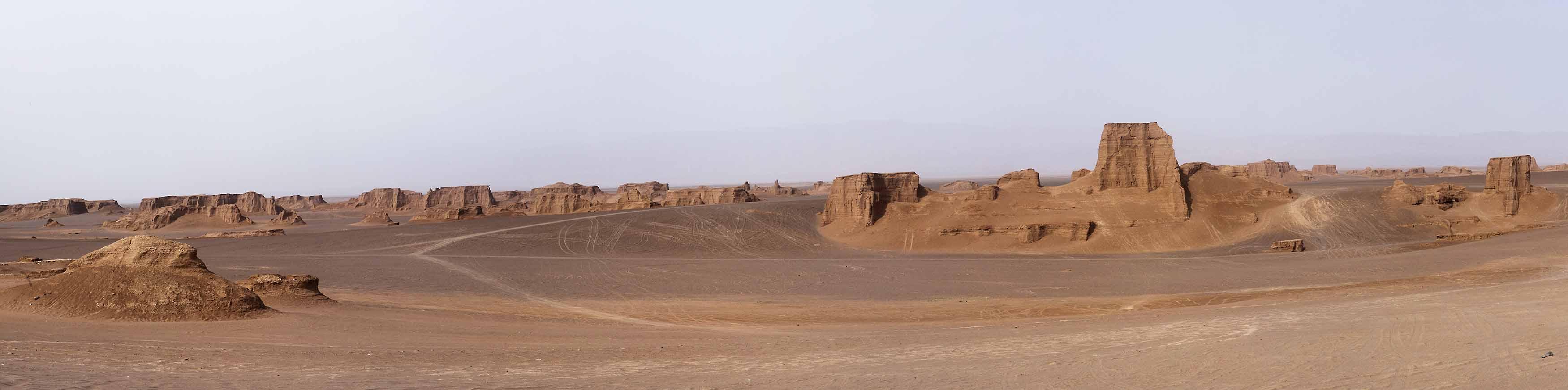 Wüste Lut Panorama