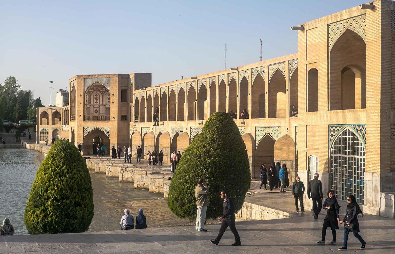 Isfahan, Iranreise