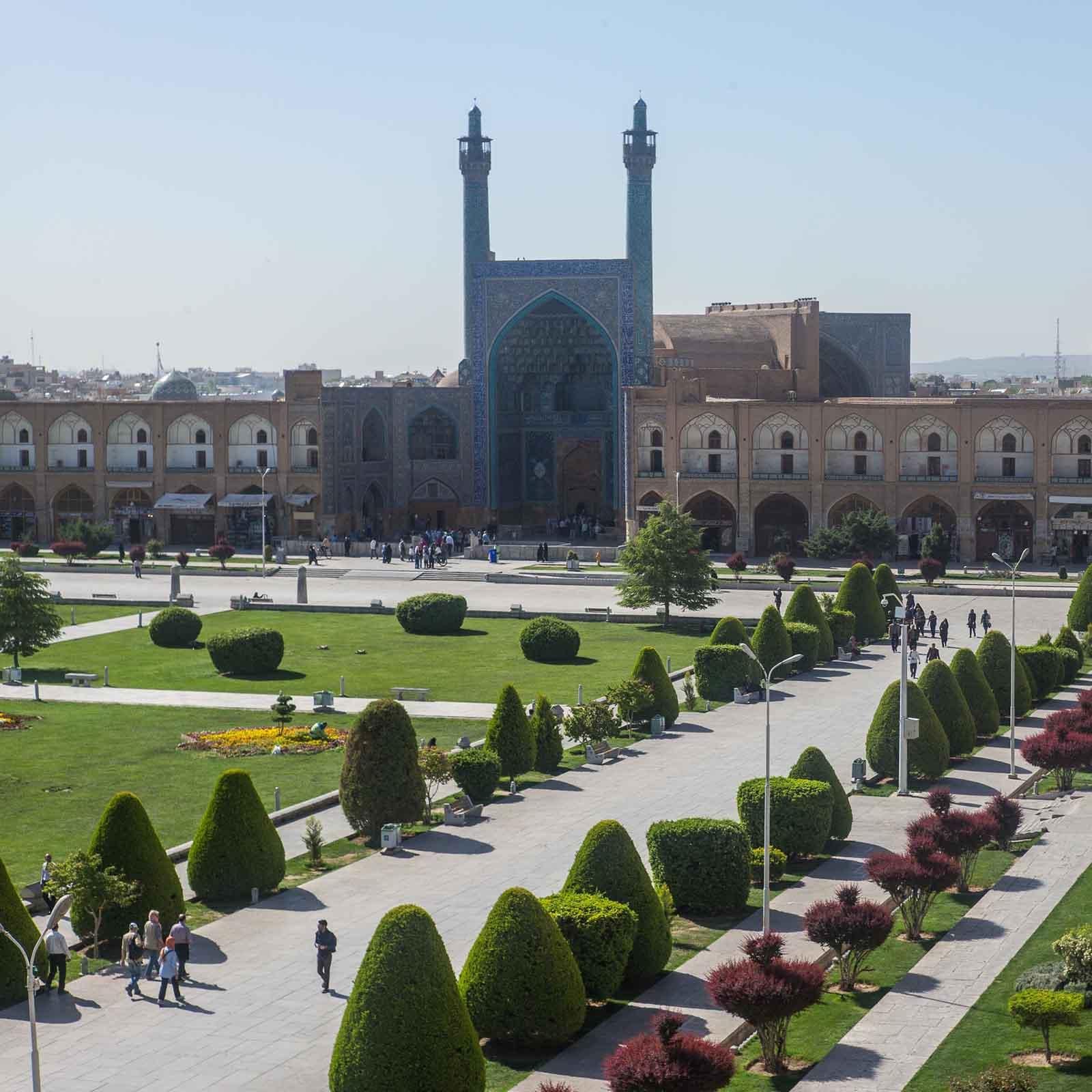 Königsmoschee, Isfahan, Iranreise