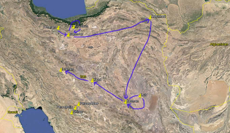 Iranreise