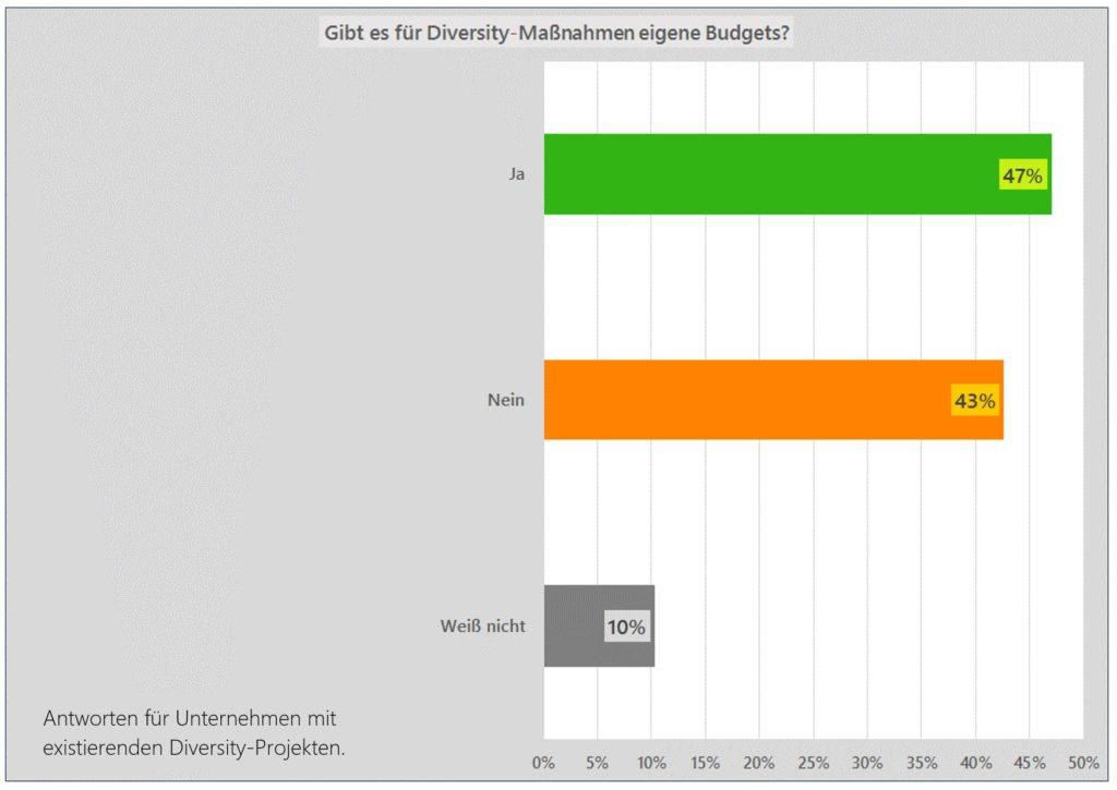 Budgets Diversity Management