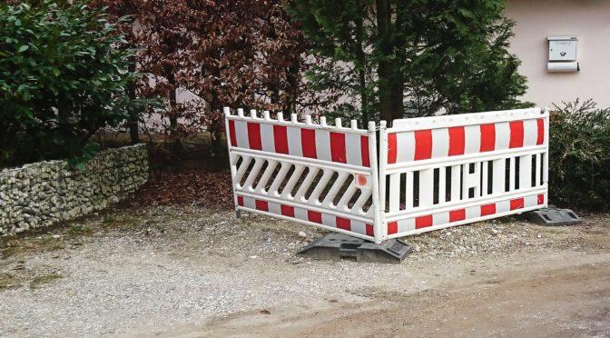 Baustelle der Deutsche Glasfaser