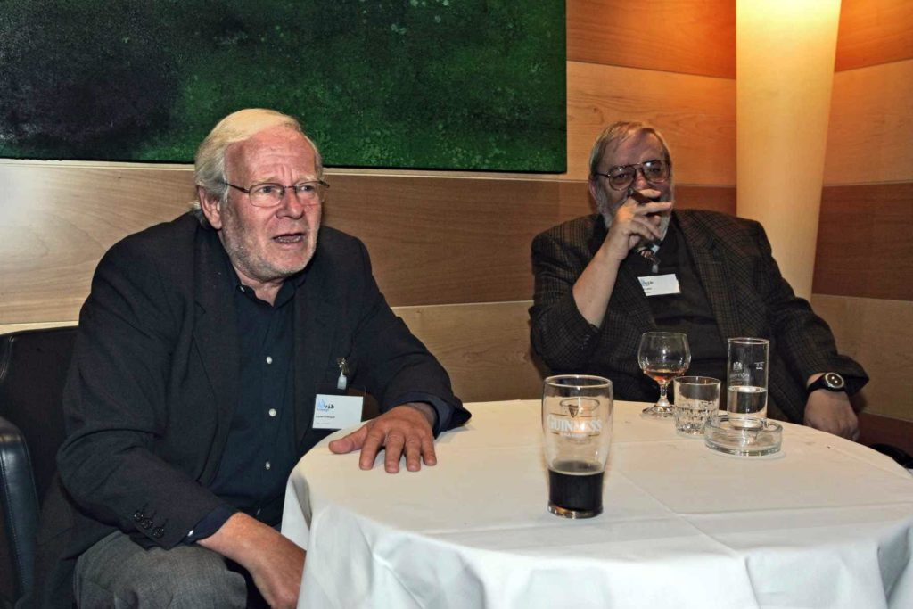 Rudi Kulzer mit Dieter Eckbauer