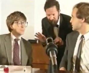 Bill Gates und Michael Kausch in Moskau